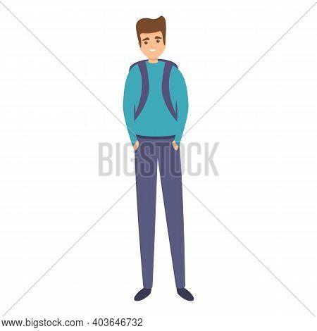 Primary School Uniform Icon. Cartoon Of Primary School Uniform Vector Icon For Web Design Isolated O