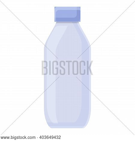Plastic Bottle Waste Icon. Cartoon Of Plastic Bottle Waste Vector Icon For Web Design Isolated On Wh