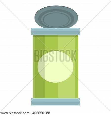 Used Can Icon. Cartoon Of Used Can Vector Icon For Web Design Isolated On White Background