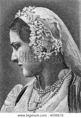 Greek Woman In National Costume