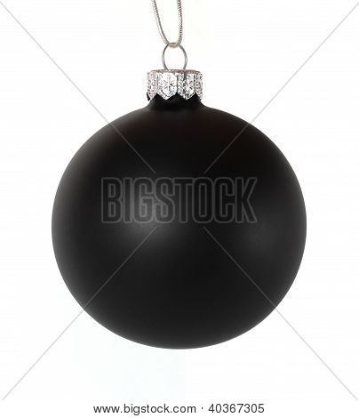 Black Christmas Ball