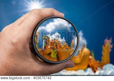 Photography View Camera Photographer Lens Lense Through Video Photo Digital Glass Hand Blurred Focus