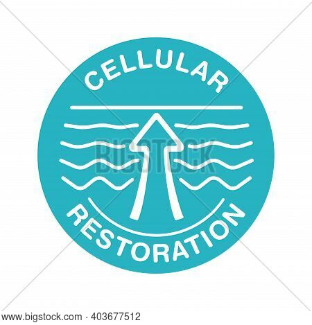 Cellular Restoration Anti-age Formula Sign - Epidermis Structure Restore - Anti-aging Cosmetics And