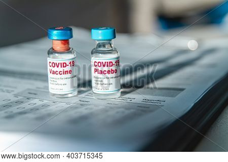 Covid 19 Vaccine And Placebo Clinical Trials And Medical Records