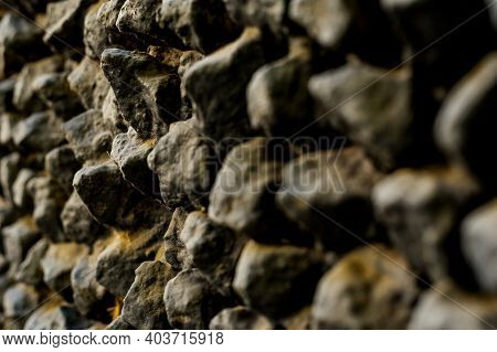 Background Texture Of Stone Wall. Stones Background. Grey Background