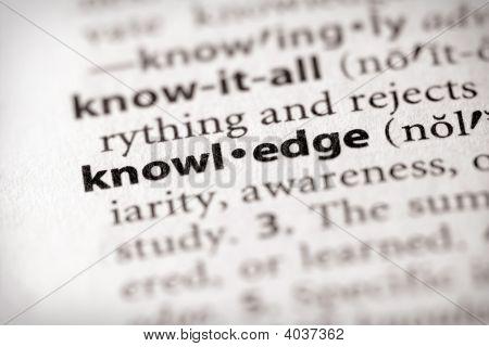 Dictionary Series - Science: Knowledge