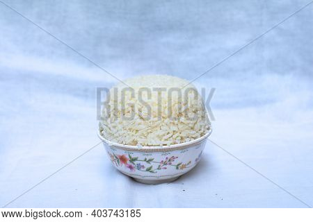Rice For Gods Worshiping Chinese Beliefs. For Pay Respects To God Or Spirits Of Ancestor. According