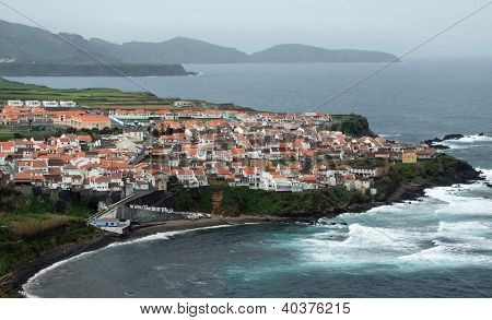 Coastal Settlement At The Azores