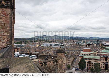 Edinburgh, Scotland, Uk - 06 Aug 2013: The Building In Edinburgh, Scotland, Uk