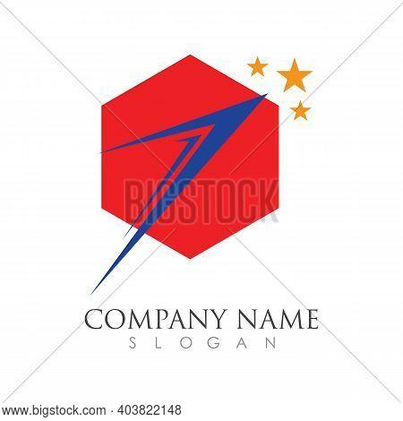 Faster Logo Template Vector Icon