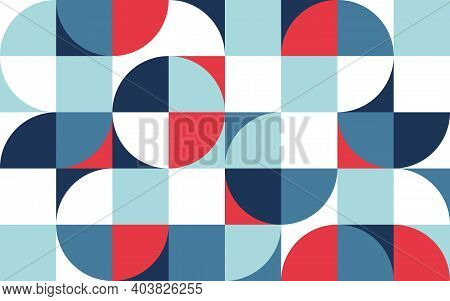 Geometric Pattern Abstract Minimalist Background. Geometric Shapes Different Shape. Poster Banner Or