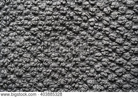 A View Of The Texture Of A Terry Towel