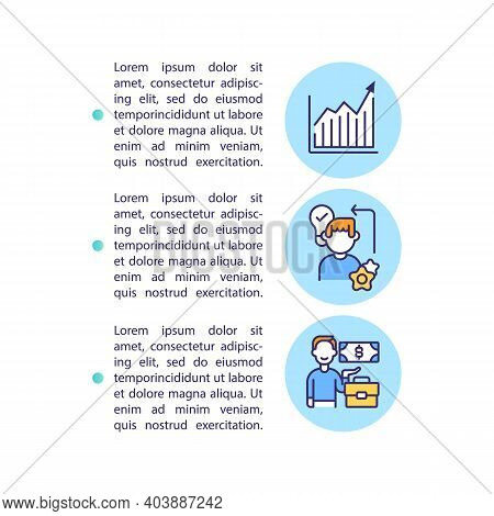 Advantages Concept Icon With Text. Getting Better Result From Working Staff. Learning Programs. Ppt