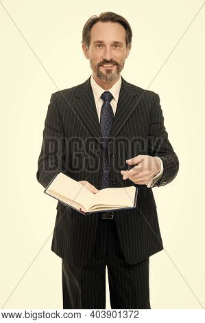 Self Education. Teacher Lecturer Speaker. Making Notes. Lecturer With Book. Business School Educatio