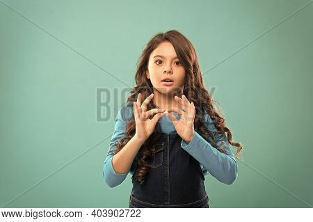 Prevention Pill. Nutritious Diet Help Body Girl With Long Hair Hold Pill Fingers. Vitamin Concept. N