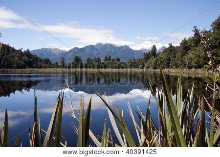 Lake Matheson South Island New Zealand