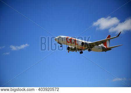 Boeing 737 Max 8 During Landing