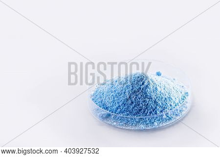 Copper Sulfate, A Chemical Compound, Works As An Algaecide. Used In Swimming Pools, Agriculture And