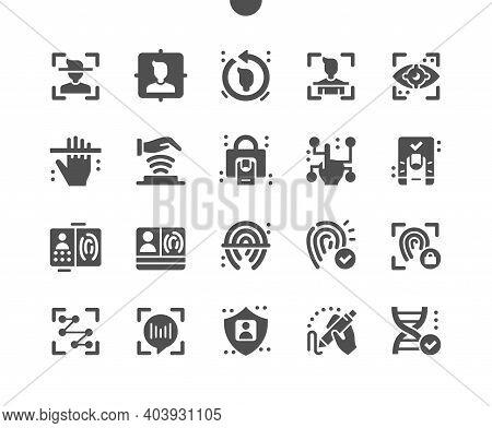 Biometrics. Fingerprint, Voice Identification. Person Scanning. Biometric Passport And Documents. Hu