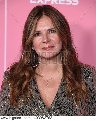 LOS ANGELES - DEC 12:  Lou Taylor arrives for the Billboard's 2019 Women in Music on December 12, 2019 in Hollywood, CA