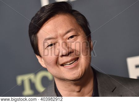 LOS ANGELES - FEB 06:  Actor Ken Jeong arrives for FOX Winter TCA 2019 on February 06, 2019 in Los Angeles, CA