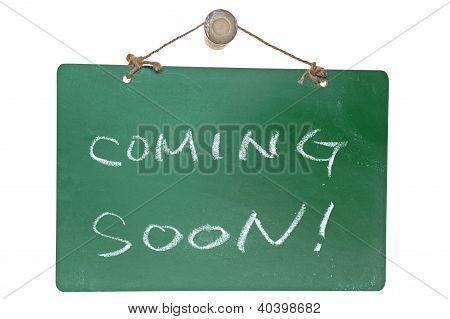 Coming Soon Words