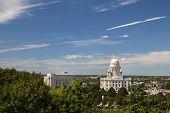 Panorama of Providence , Rhode Island, USA poster