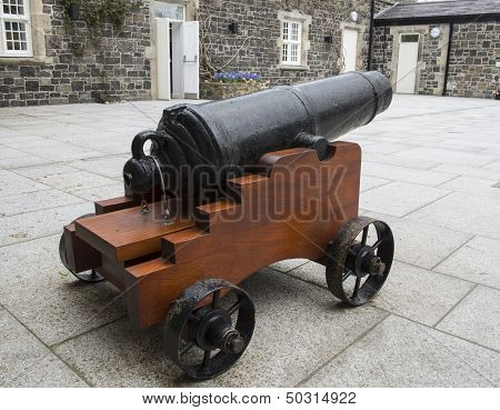 Courtyard Cannon