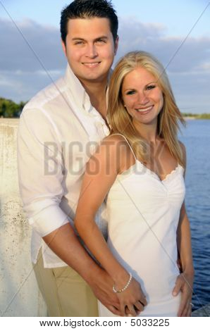 Couple On Dock 7