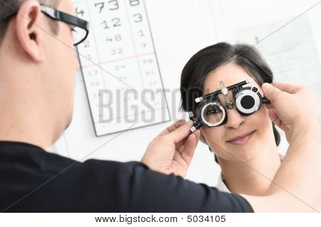 At The Optician