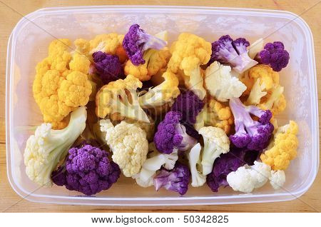 Tricolor Cauliflower