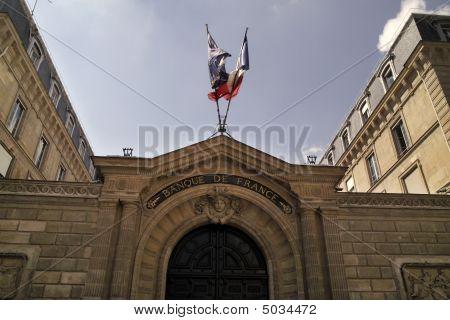 Bank Of France Entrance