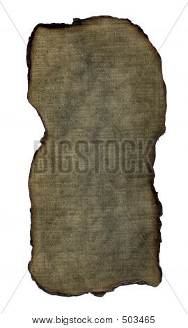 Grunge Vintage Paper: Burnt Brown Small