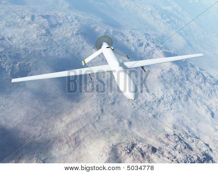 Mq-1 Predator In Flight