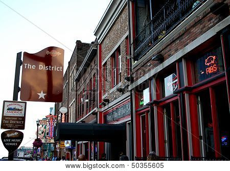 Welcome to The District in Nashville, TN