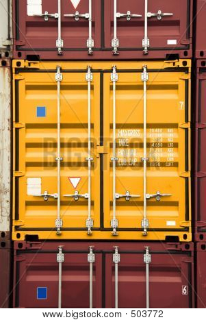 Container Orange Color