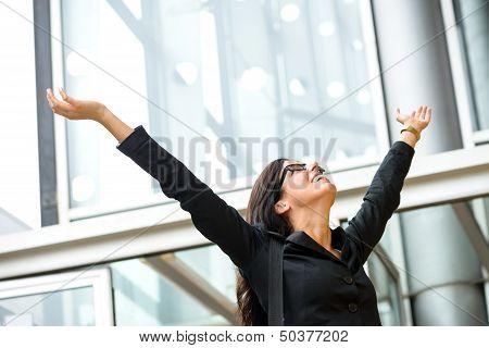Woman Business Success
