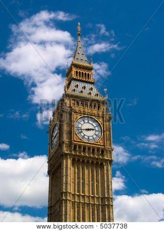London - Big Ben Tower Clock
