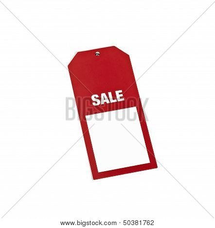 Red Label With Sale