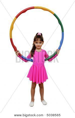 Girl Hoola Hoop