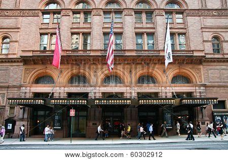 Carnegie Hall Facade