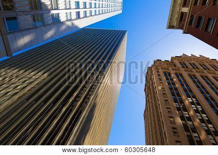 San Francisco Downtown buildings at California USA