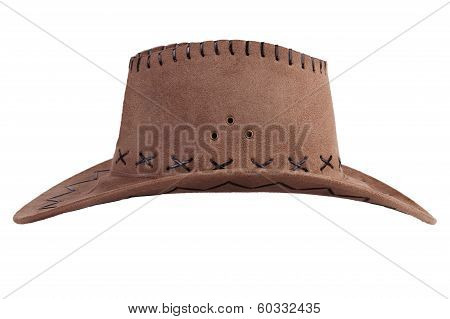 Cowboy Hat On A White Background