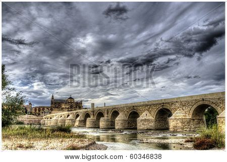 Tormenta en molino romano