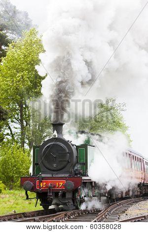 steam train, Strathspey Railway, Highlands, Scotland
