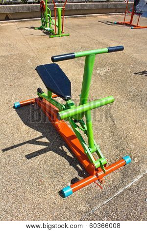 Exercise Bike In The Park