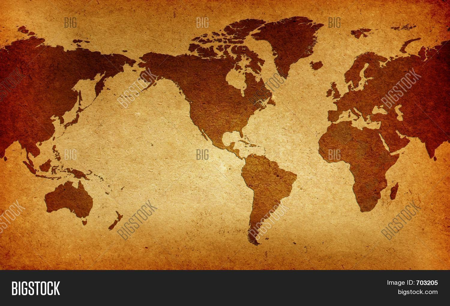 Old america centered image photo free trial bigstock old america centered world map gumiabroncs Choice Image