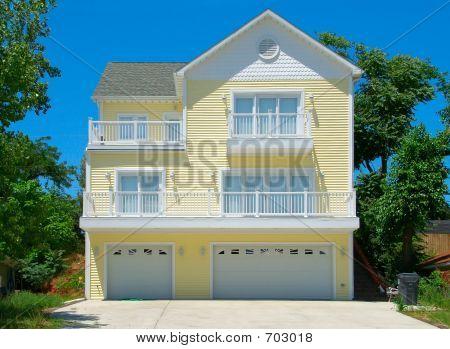 Beach House In Summer
