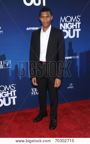 LOS ANGELES - APR 29:  Gaius Charles arrives to the