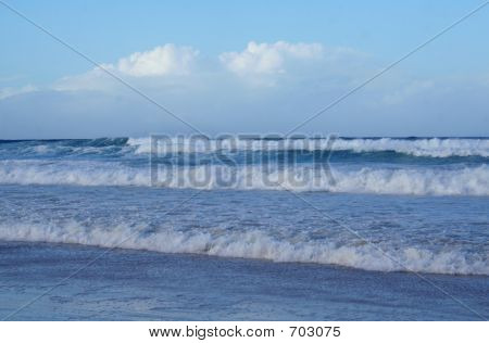 Gold Coast Beach Water